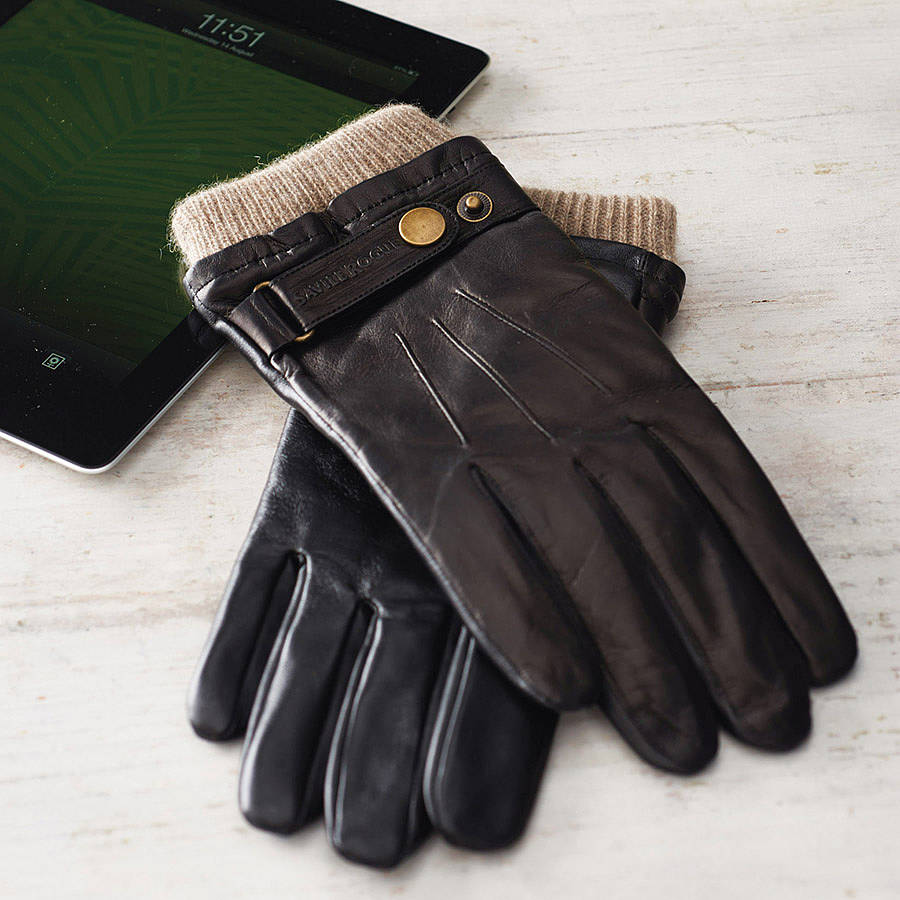 Best mens leather gloves uk - Original_leather Touchscreen Gloves 1